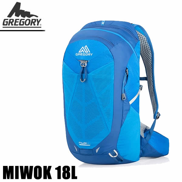 グレゴリー リュック デイパック MIWOK 18 ミウォック 18L /REFLEX BLUE リフレックスブルー 1114800602 GREGORY バッグ リュック 【C1】【w20】