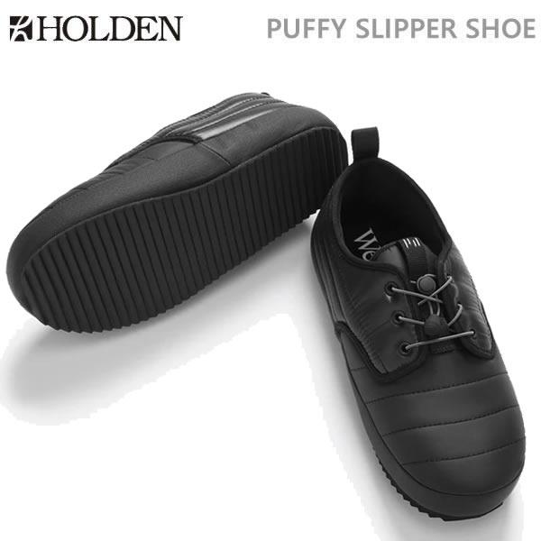 【w59】ホールデン HOLDEN PUFFY SLIPPER SHOE/ブラック(19-20 2020)シューズ・靴【C1】【w60】