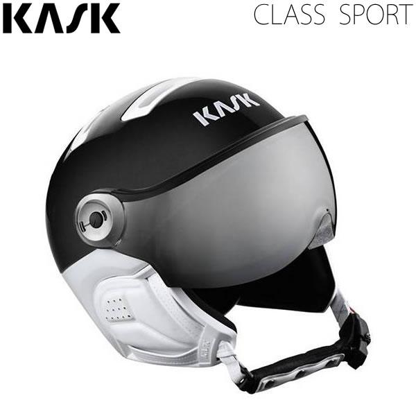 KASK バイザー ヘルメット 2020 CLASS SPORT BLACK シルバーミラーレンズ SHE00064-210 クラス スポーツ 19-20 KASK ヘルメット スキー 日本正規品 【C1】【smtb-k】[%OFF]【w02】