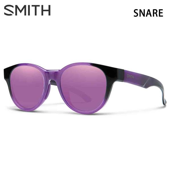 スミス サングラス   SNARE VIOLET SPRAY - PURPLE MIRROR  スネア  SMITH サングラス 日本正規品【C1】【w20】