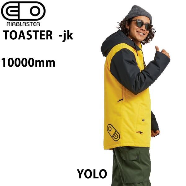エアブラスター ウェア 20-21 TOASTER -jacket / YOLO ジャケット (2020-2021) AIR blaster ウエア  スノーボード ウェア メンズ【C1】