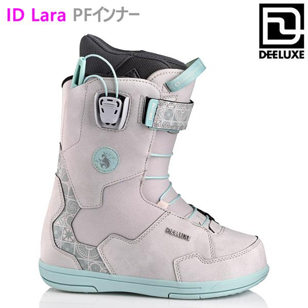 ディーラックス ブーツ レディース DEELUXE ID LARA LTD アイディーララ リミテッド GREY MOSAIC PF ノーマルインナー(20-21 2021)スノーボード ブーツ【C1】