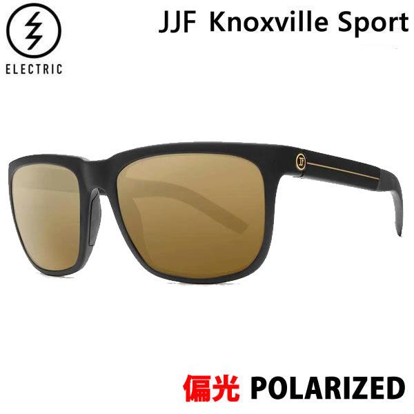 エレクトリック サングラス 偏光レンズ ノックスビルスポーツ JJF Knoxville Sport / JJF Black/ BRONZE POLAR PRO EE15165266 electric サングラス 日本正規品【C1】