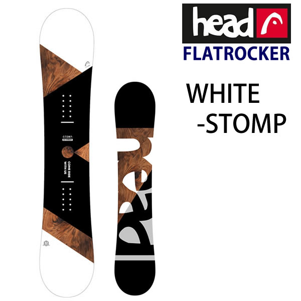 STOMP オリジナル限定モデル スノーボード 板 単品 ビンディングなし HEAD ヘッドスノーボード L2 FLOCKA お歳暮 限定タイムセール 代引き不可 ストンプ スノボー WHITE w96