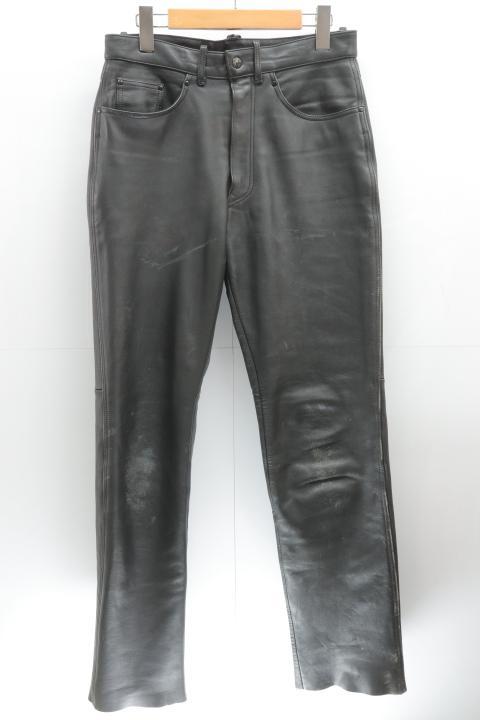 TAICHI レザーパンツ M 黒 ブラック 中古 販売期間 限定のお得なタイムセール メンズ レザー 推奨