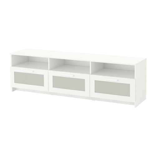 【IKEA/イケア/通販】 BRIMNES ブリムネス テレビ台, ホワイト(a)(50409893)【代引不可商品】