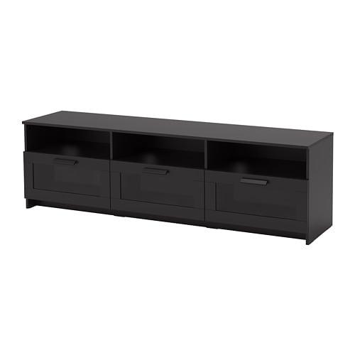 【IKEA/イケア/通販】 BRIMNES ブリムネス テレビ台, ブラック(d)(90409891)