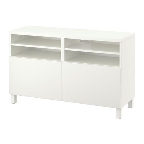 【IKEA/イケア/通販】 BESTÅ ベストー テレビ台 扉付き, ラップヴィーケン ホワイト(a)(S49186327)