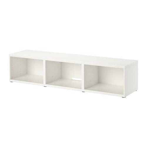 【期間限定】【IKEA/イケア/通販】 BESTÅ ベストー テレビ台, ホワイト(d)(90294526)
