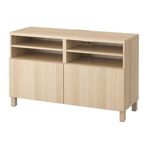 【IKEA/イケア/通販】 BESTÅ ベストー テレビ台 扉付き, ラップヴィーケン ホワイトステインオーク調(a)(S29186328)