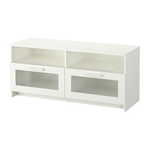 【期間限定】【IKEA/イケア/通販】 BRIMNES ブリムネス テレビ台, ホワイト(a)(90337700)