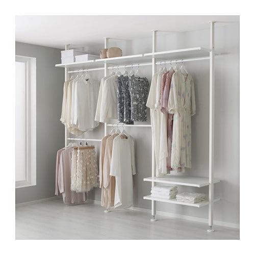 【IKEA/イケア/通販】 ELVARLI エルヴァーリ 3セクション, ホワイト(a)(S19157369)