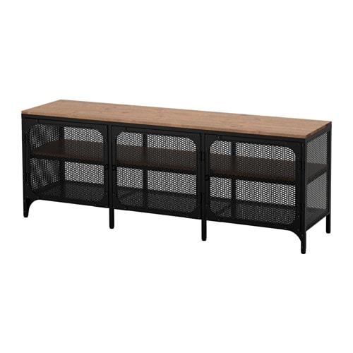 【期間限定】【IKEA/イケア/通販】 FJÄLLBO フィエルボ テレビ台, ブラック(d)(30339293)
