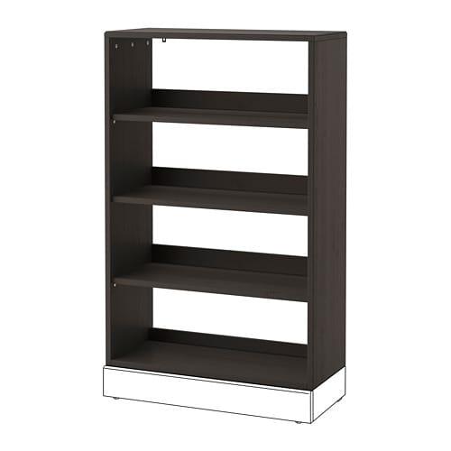 【IKEA/イケア/通販】 HAVSTA ハーヴスタ シェルフユニット, ダークブラウン(a)(90391042)