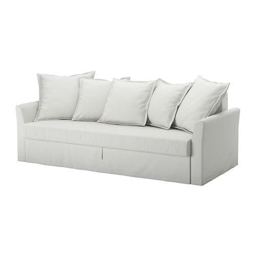 IKEA イケア リビングルーム 別売りカバー HOLMSUND ホルムスンド 即日出荷 通販 S69240762 代引不可商品 ストアー a オッルスタ ライトホワイトグレー 3人掛けソファベッド