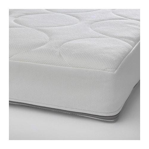 【IKEA/イケア/通販】 JÄTTETRÖTT イェッテトロット ポケットスプリングマットレス ベビーベッド用, ホワイト(a)(20348108)