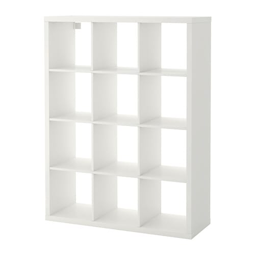 【IKEA/イケア/通販】 KALLAX カラックス シェルフユニット, ホワイト●(a)(60409939)