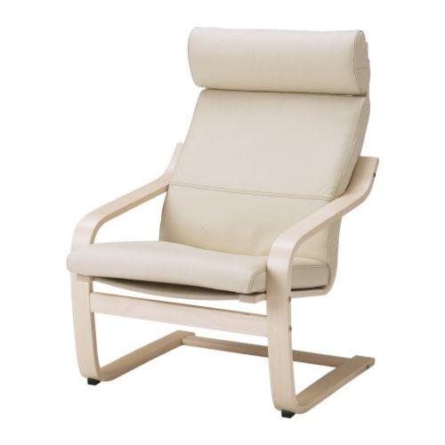 【IKEA/イケア/通販】 POANG アームチェア, バーチ材突き板, ロブスト エッグシェル(d)(99864517)