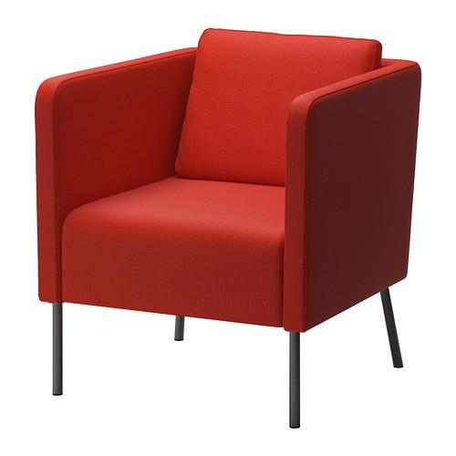 【期間限定】【IKEA/イケア/通販】 EKERO アームチェア, スキフテボー オレンジ(d)(00262884)