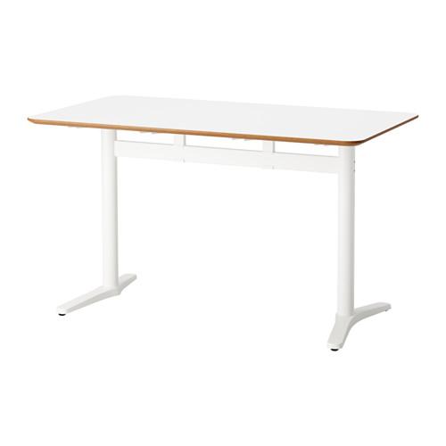 【IKEA/イケア/通販】 BILLSTA テーブル, ホワイト, ホワイト(c)(89128712)