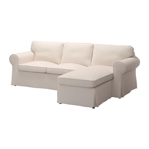 【IKEA/イケア/通販】 EKTORP 2人掛けソファ&寝椅子, ローファレット ベージュ(b)(29129154)