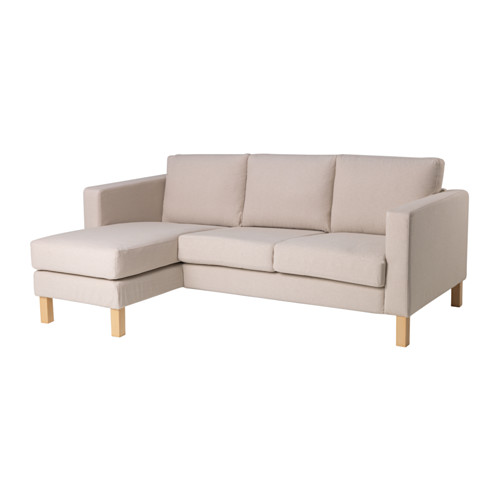 【IKEA/イケア/通販】 KARLSTAD 2人掛けコンパクトソファ&寝椅子, ローファレット ベージュ(a)(59158116)