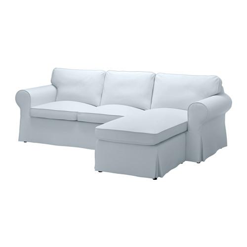 【IKEA/イケア/通販】 EKTORP カバー 2人掛けソファ&寝椅子用, ノールドヴァッラ ライトブルー(b)(90317759)
