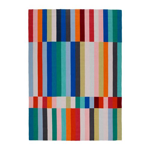 【IKEA/イケア/通販】 HALVED ラグ 平織り, 手織り マルチカラー(d)(00328229)