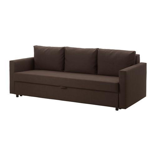 【IKEA/イケア/通販】 FRIHETEN 3人掛けソファベッド, スキフテボー ブラウン(a)(10341145)