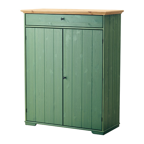 【IKEA/イケア/通販】 HURDAL リネンキャビネット, グリーン(b)(30358432)