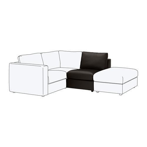 【IKEA/イケア/通販】 VIMLE 1人掛けソファセクション, ファールスタ ブラック(c)(60353391)