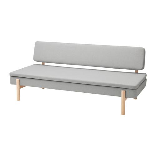 【IKEA/イケア/通販】 YPPERLIG 3人掛けソファベッド, オッルスタ ライトグレー(a)(70346588)