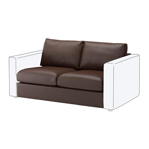 【IKEA/イケア/通販】 VIMLE 2人掛けソファセクション, ファールスタ ダークブラウン(b)(80353427)