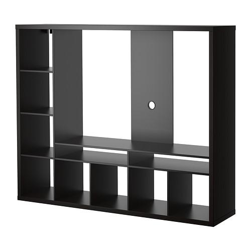 【期間限定】【IKEA/イケア/通販】 LAPPLAND テレビ収納ユニット, ブラックブラウン(a)(80352569)