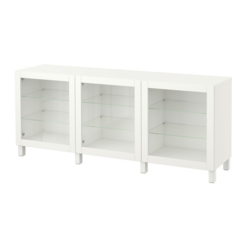 【IKEA/イケア/通販】 BESTÅ 収納コンビネーション 扉付, シンドヴィーク ホワイト(a)(S09187475)