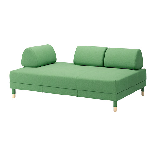 【IKEA/イケア/通販】 FLOTTEBO ソファベッド, リーセード グリーン(a)(S09222233)