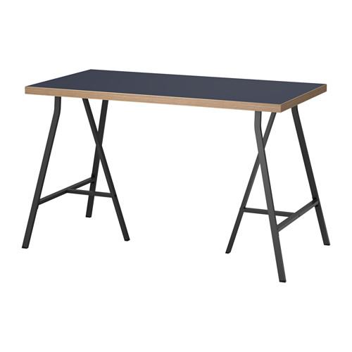 【特選商品】【IKEA/イケア/通販】 LINNMON / LERBERG テーブル, ブルー, グレー(a)(S09214285)