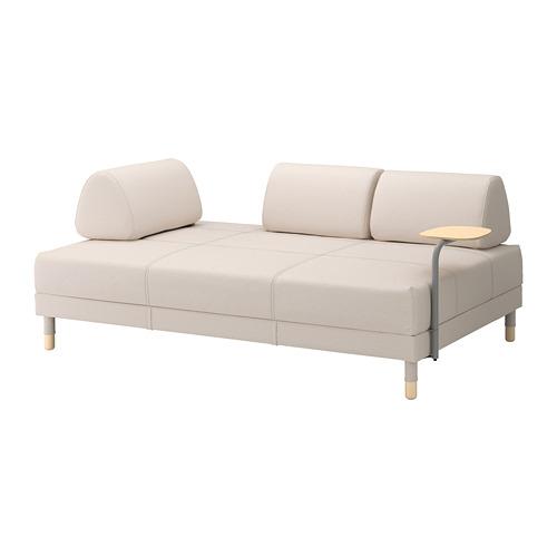 【IKEA/イケア/通販】 FLOTTEBO ソファベッド サイドテーブル付き, ローファレット ベージュ(a)(S19222157)