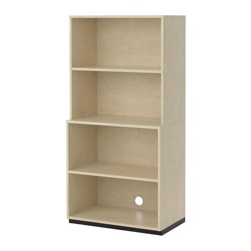 【IKEA/イケア/通販】 GALANT オープン収納コンビネーション, バーチ材突き板(d)(S19222987)
