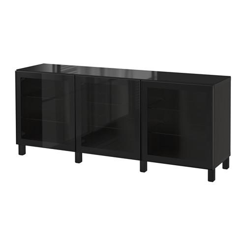 【同梱不可】 【IKEA/イケア/通販】 扉付, BESTÅ BESTÅ 収納コンビネーション 扉付, グラスヴィーク ブラック/クリア ガラス(a)(S19219386), ROCK MOUNTAIN:a003762d --- business.personalco5.dominiotemporario.com
