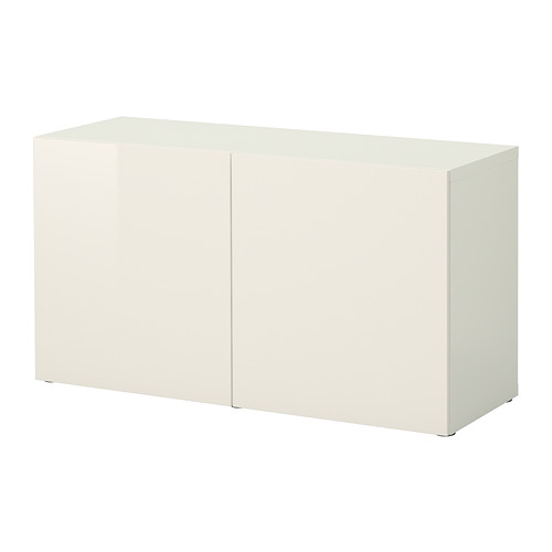【IKEA/イケア/通販】 BESTÅ シェルフユニット 扉付, ホワイト, セルスヴィーケン ハイグロス/ホワイト(a)(S19221389)