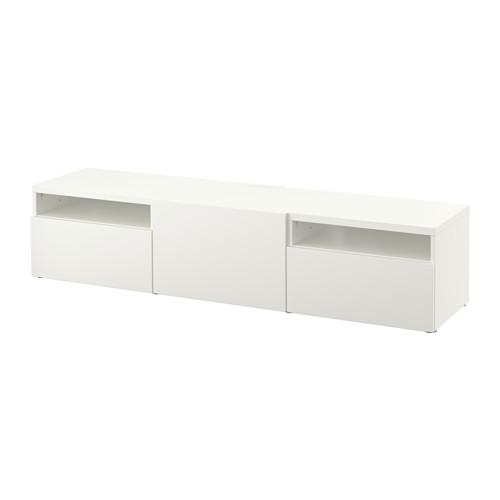【IKEA/イケア/通販】 BESTÅ テレビ台, ラップヴィーケン ホワイト(a)(S29184999)