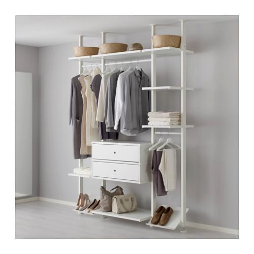 激安正規品 【IKEA 3セクション,/イケア/通販】 ELVARLI ELVARLI 3セクション, ホワイト(b)(S29157547), ミネグン:3ce84f56 --- jf-belver.pt
