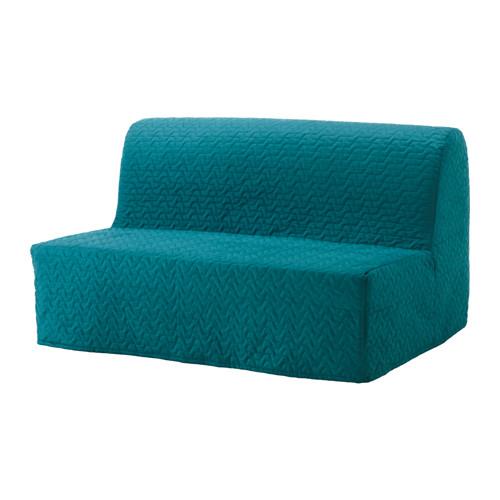 【IKEA/イケア/通販】 LYCKSELE LÖVÅS 2人掛けソファベッド, ヴァッラルム ターコイズ(a)(S29149897)