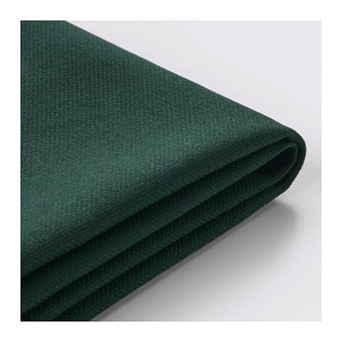 【IKEA/イケア/通販】 VIMLE カバー 4人掛けソファ用, 寝椅子付き, グンナレド ダークグリーン(a)(S29218310)