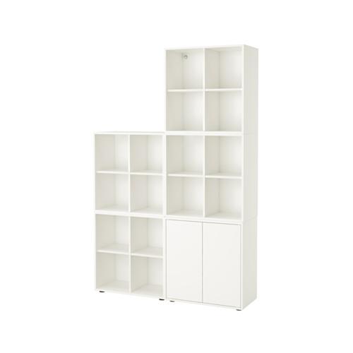 【IKEA/イケア/通販】 EKET キャビネットコンビネーション 足付き, ホワイト(a)(S39221086)