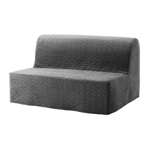 【IKEA/イケア/通販】 LYCKSELE LÖVÅS 2人掛けソファベッド, ヴァッラルム グレー(b)(S39149934)