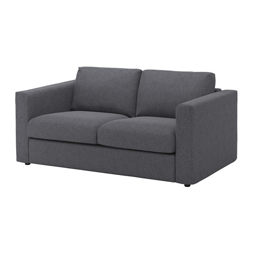 【IKEA/イケア/通販】 VIMLE 2人掛けソファ, グンナレド ミディアムグレー(b)(S39205294)