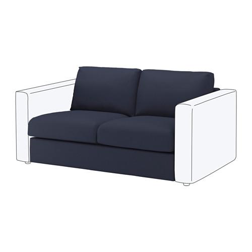 【IKEA/イケア/通販】 VIMLE 2人掛けソファセクション, オッルスタ ブラックブルー(a)(S49219506)