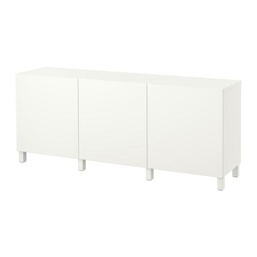 【IKEA/イケア/通販】 BESTÅ 収納コンビネーション 扉付, ラップヴィーケン ホワイト(a)(S49187459)